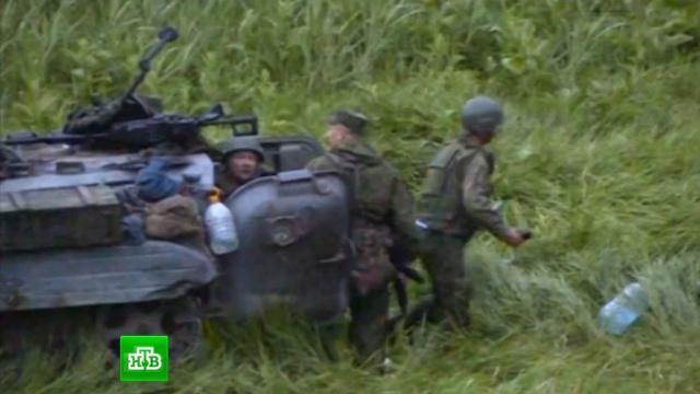 """""""Десен сектор"""" разстреля екипажа на БМП, озовал се на руска територия"""