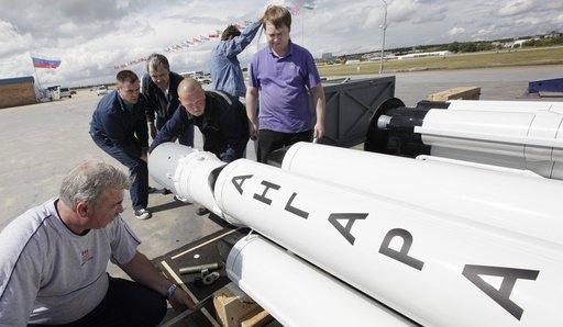 """Стартът на руската тежка ракета """"Ангара"""" ще се проведе в края на годината"""