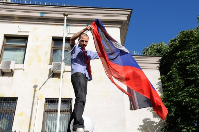 Нападението срещу руското посолство в Киев демонстрира слабостта на украинските власти