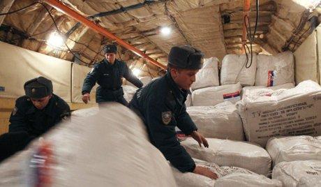 Русия доставила почти 80 тона хуманитарна помощ за бежанците от Украйна