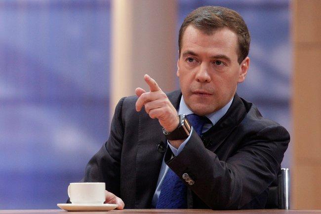 Дмитрий Медведев: Доставките на газ за Украйна ще се подновят след плащане на дълговете и предплата