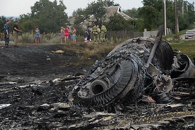 Самолет от ВВС на Украйна е летял заедно с малайзийския боинг