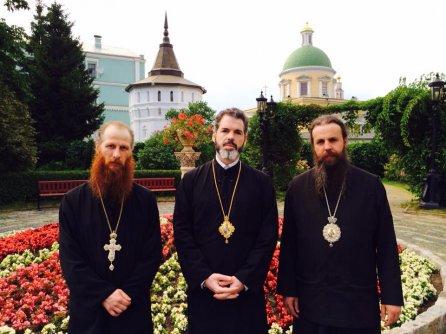 Български митрополити участваха в тържествата по повод 700-годишнината от раждането на св. Сергий Радонежки