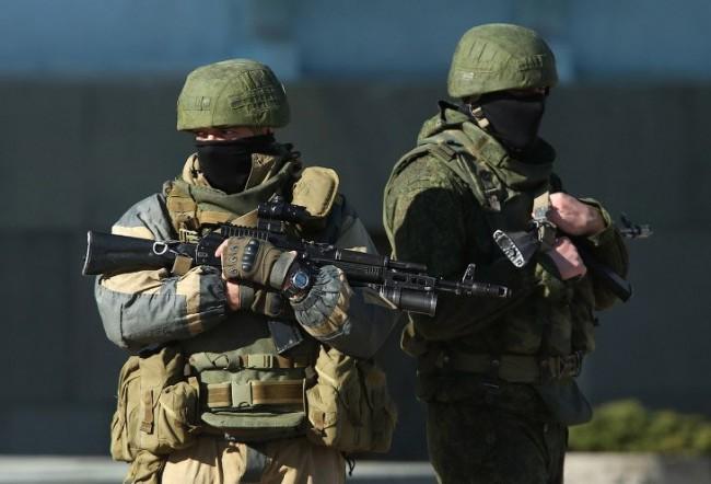 """""""Вежливите хора"""" е новият образ на Руската армия"""