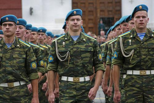 Вежливите хора като нов образ на Руската армия1