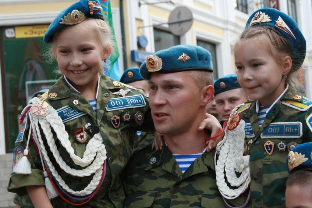 Вежливите хора като нов образ на Руската армия2