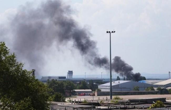 В Донецк върви ожесточена битка за летището