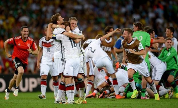 Германия и Аржентина 2014