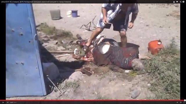 Донбас потъна в кръв (СНИМКИ  ВИДЕО 18+)0
