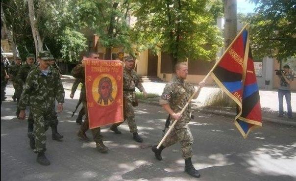 Тихвинската Божия Майка пристигна в Донецк