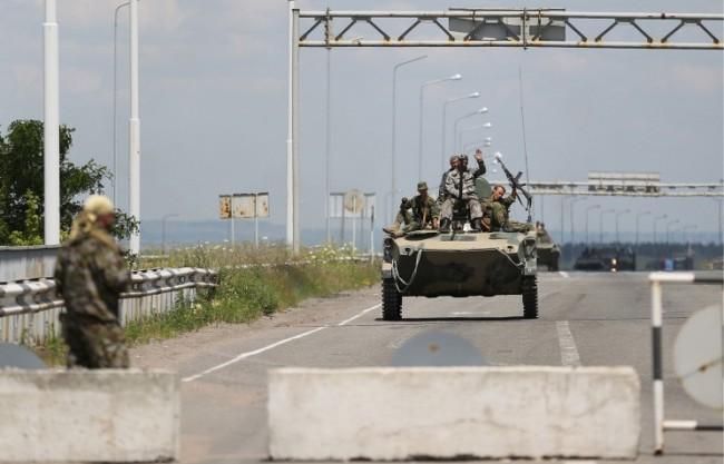 Опълченците изтласкаха украинската армия от Луганск