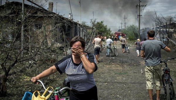 Украинската армия обстрелва жилищни квартали в предградията на Луганск