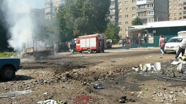 Украински военни обстреляха пазар в Луганск, има загинали