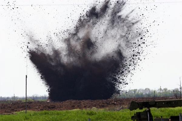 На територията на Русия се взриви украински снаряд