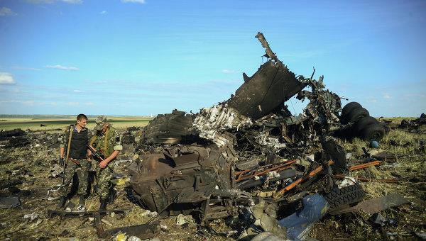 Опълченци свалиха украински самолет