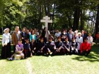 Откриха паметника-кръст на донските казаци в Шипка