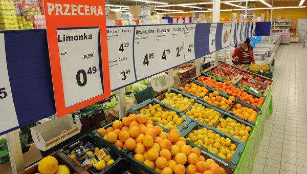 От 1 август Русия забранява вноса на плодове и зеленчуци от Полша