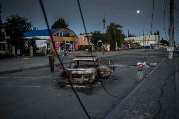 Започна щурма на Луганск