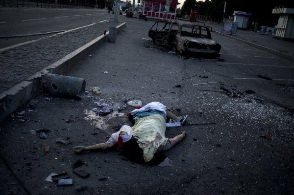 При обстрела на Луганск са загинали мирни жители2