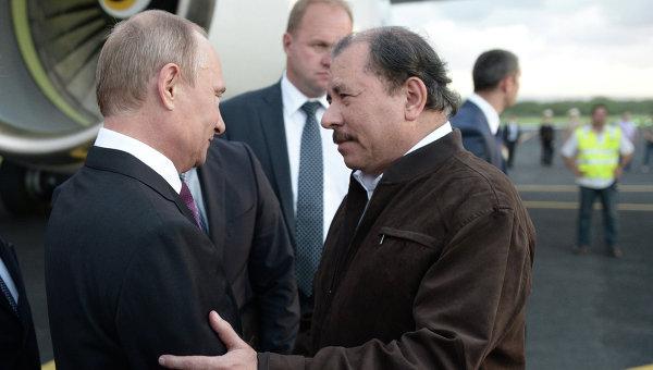 Путин с изненадваща визита в Никарагуа