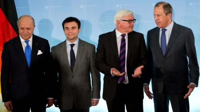 Русия,Украйна, Франция и Германия съгласуваха декларация за примирие