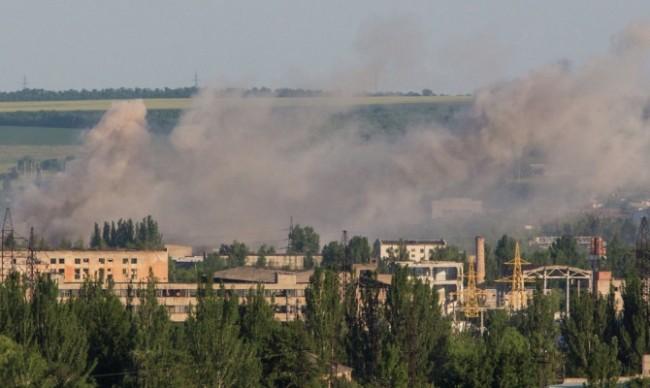 Обстреляха руски журналисти в Украйна