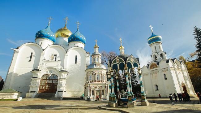 Честване на 700-годишнина на Сергий Радонежски в Троице-Сергиевата Лавра (пряк ефир)