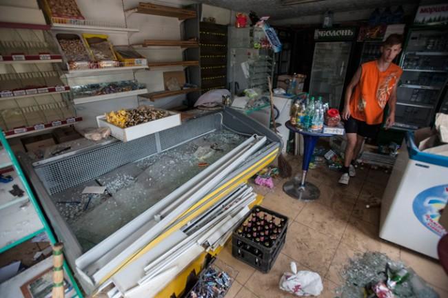 В Славянск тежка хуманитарна катастрофа