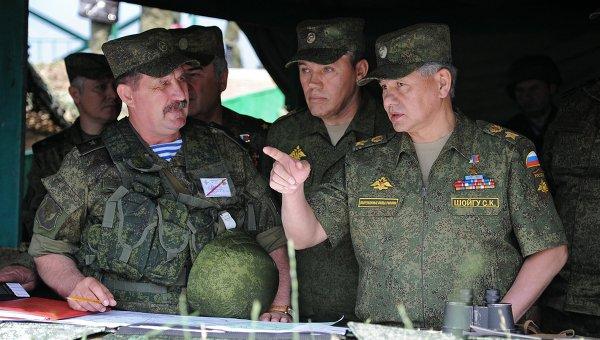 Руски ВС преминаха учения за миротворчески операции