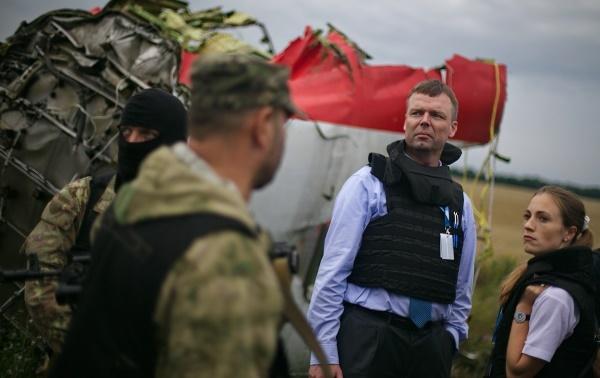 На мястото на катастрофата на Boeing 777 пристигнаха експерти