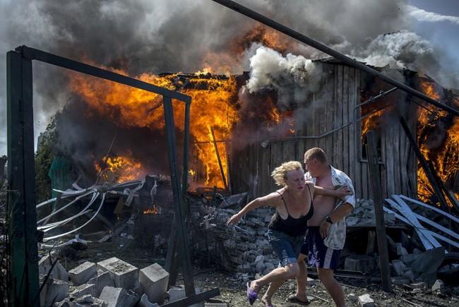 Киев се оправдава за изпепеляването на Кондрашовка с грешка на пилота