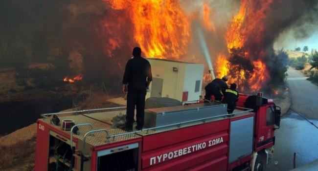 Пожарът на Атон е потушен