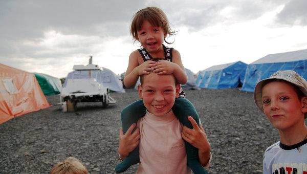 65 хил. украински бежанци пребивават на територията на Русия