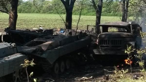 Само за ден украинската армия претърпя загуба от 125 единици бронетехника в Шахтьорск