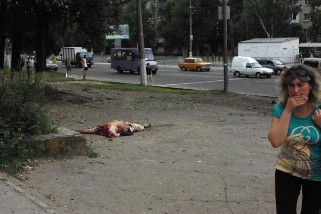 В Горловка са загинали десетки мирни жители (18+)