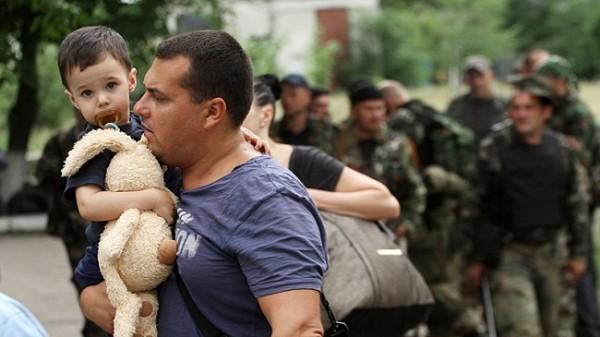 Броят на украинските бежанци в Русия надвиши 24 хил.души
