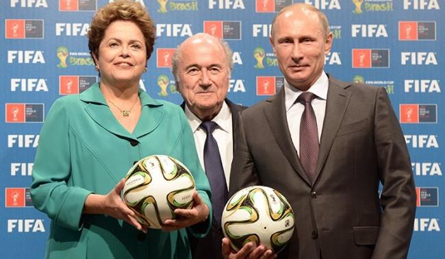 Бразилия предала на Русия щафетата на световното първенство по футбол