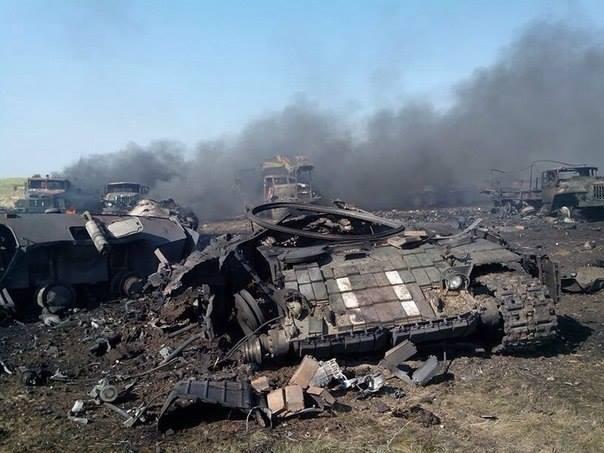 30 украински военни са загинали до Зеленополие