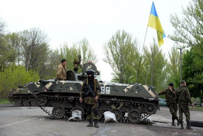 Украинските сили са обградили село Николаевка