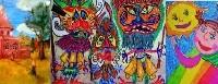 """Пети международен конкурс за детска рисунка – """"ОБИЧАМ МОЯТА РОДИНА""""-  оценка на журито /  Пятый международный конкурс детского рисунка – """"ЛЮБЛЮ СВОЮ РОДИНУ"""" – оценка жюри"""