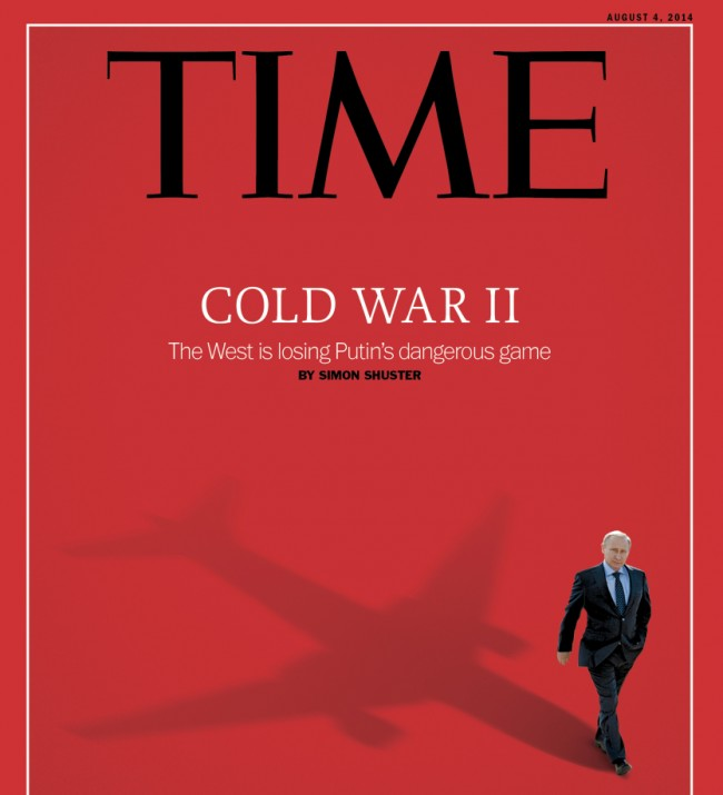 Путин отново на корицата на Time