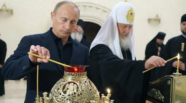 Путин призовава Патриарх Кирил да съдейства за урегулирането на ситуацията в Украйна