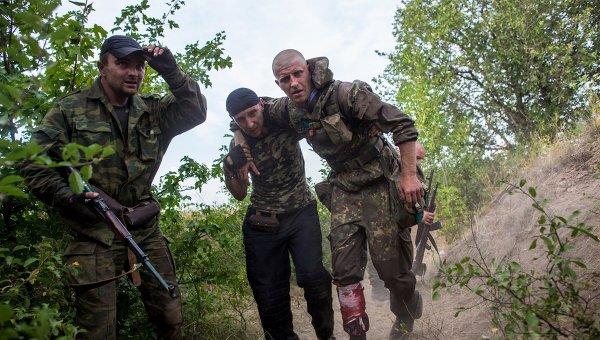 Взрив в щаба на опълченците в Донецк