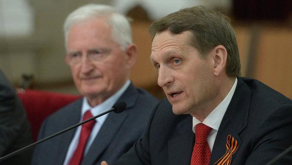 Наришкин: Вината на САЩ за събитията в Украйна е очевидна за  целия свят