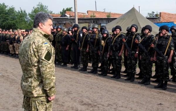 Порошенко праща българи на война