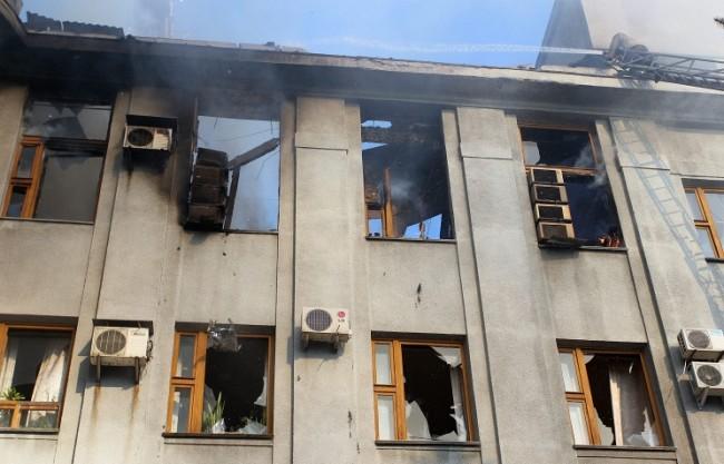 Източна Украйна под огъня на украинската армия