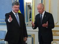 Порошенко и Байдън обсъдиха хуманитарната помощ