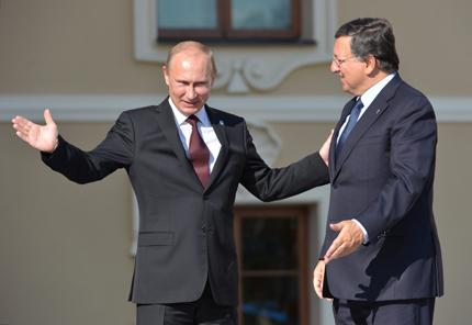 Путин и Барозу обсъдиха отношенията между Русия и ЕС