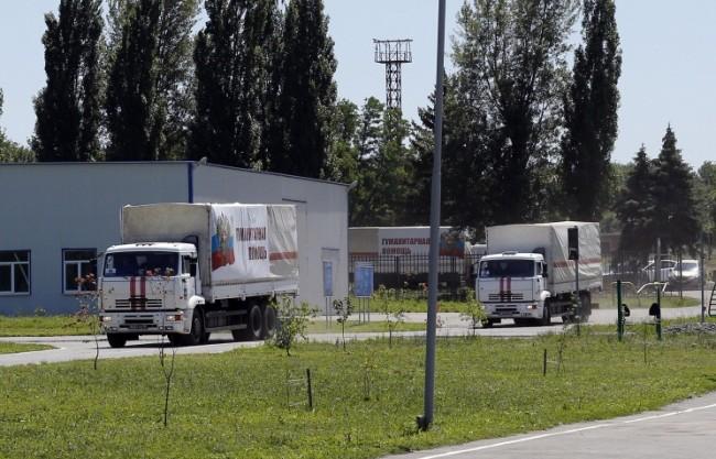 Русия изпраща хуманитарна помощ на жителите на Източна Украйна