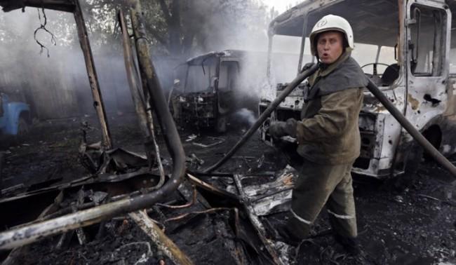 Кърваво клане в украинския Углегорск: Десетки са загинали